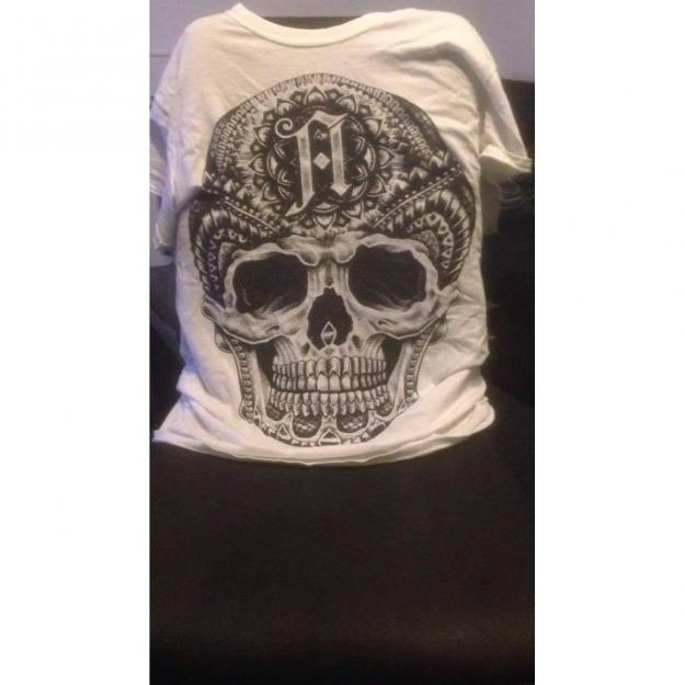 Architects Merch T-Shirt Skull