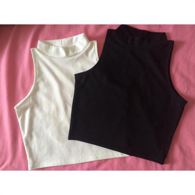 Crop toppe