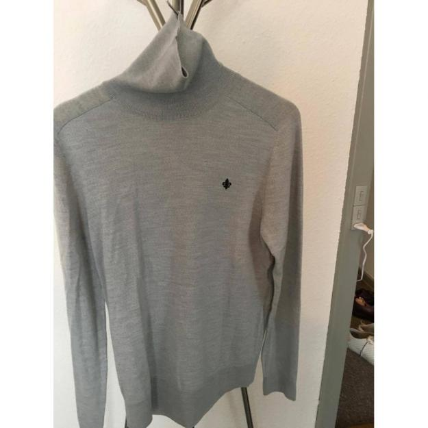Roller neck from Morris in grey, size M