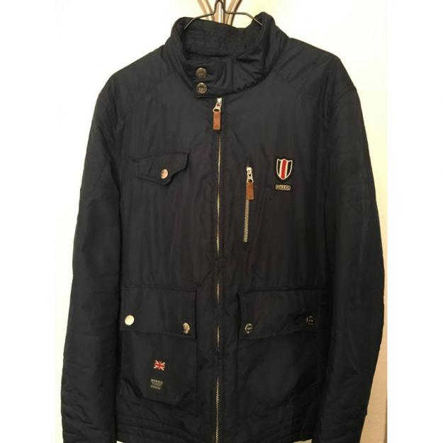 Morris Stockholm racing jacket in Navy