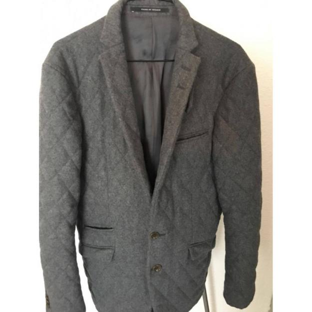 Tiger of Sweden quilted blazer in grey