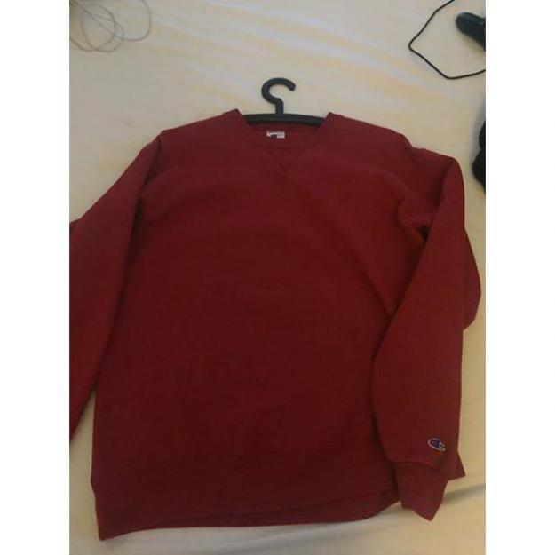Rød Champion sweater