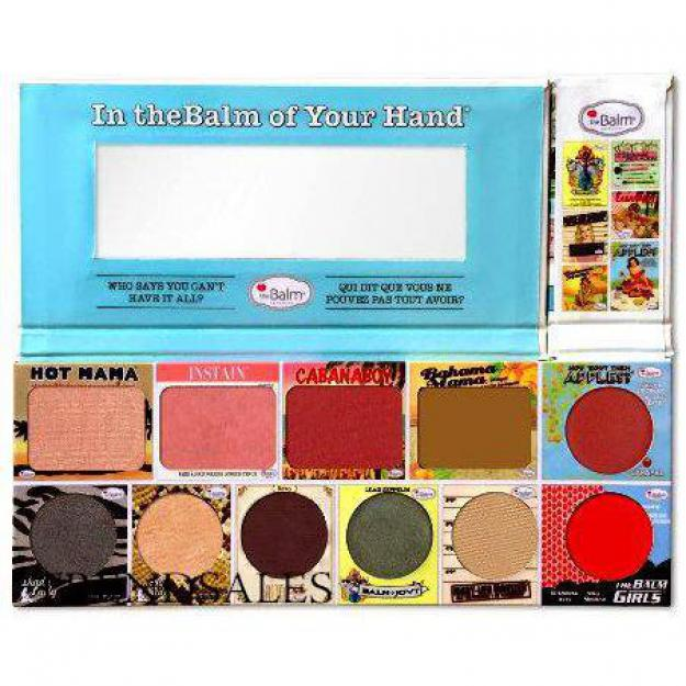 theBalm-inthebalm of your hand palette makeup blush bronzer highlighter