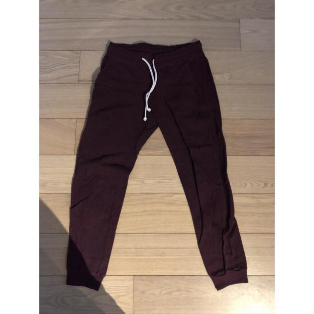 Mørkerøde sweatpants