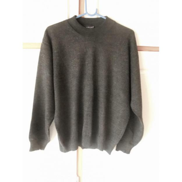 Sweater med uld