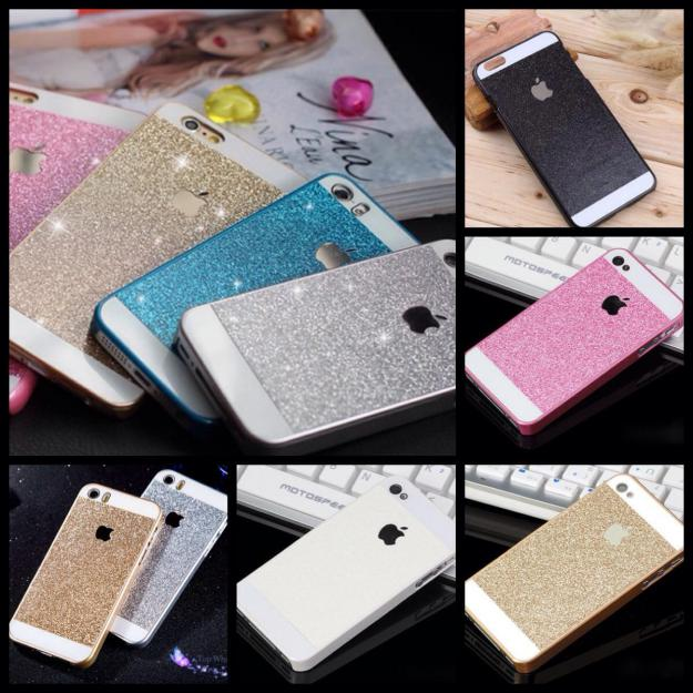 Flotte glimmer covers til iPhone 4/4s 5/5s el 6/6s