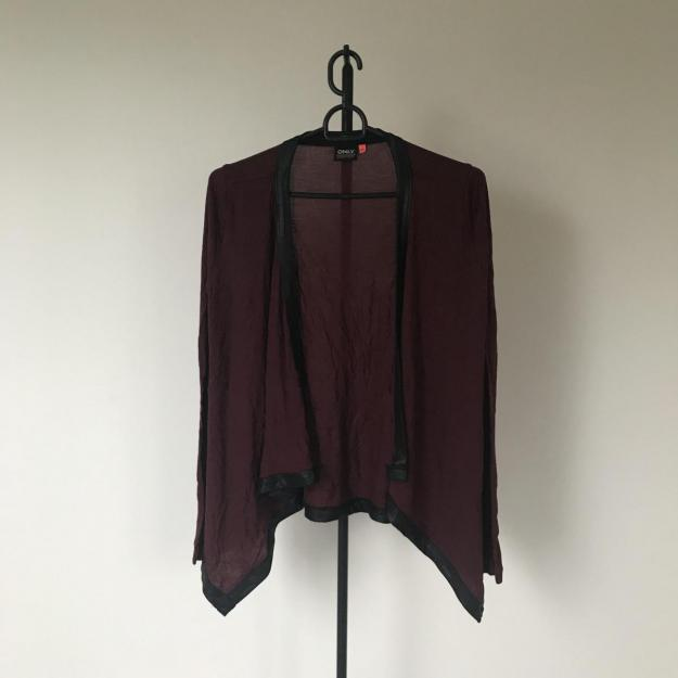 Fin bordeaux cardigan