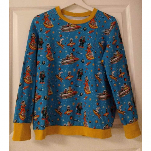 Retro kitsch sweatshirt Str M